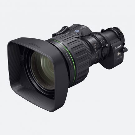 Canon CJ20 ex7.8B 4K Lens for ENG and Sports
