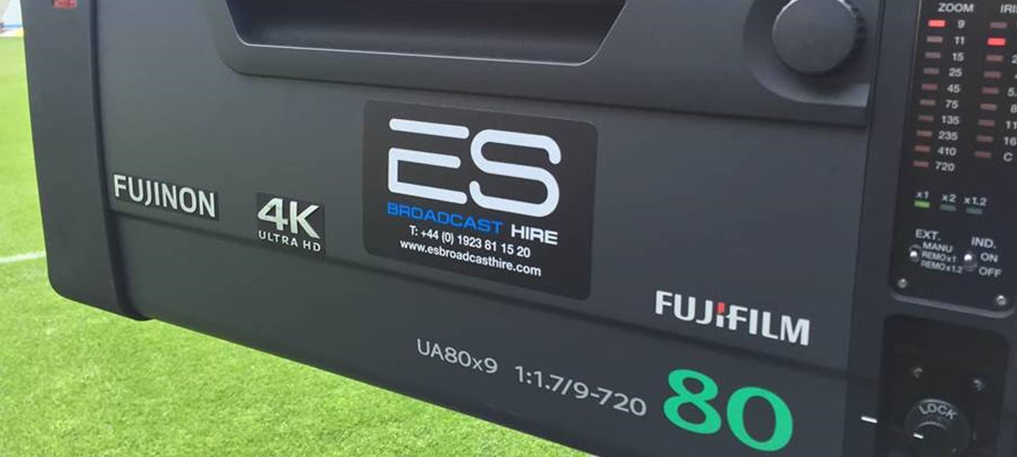 Fujinon UA80 4K Lens for Live Sports Production