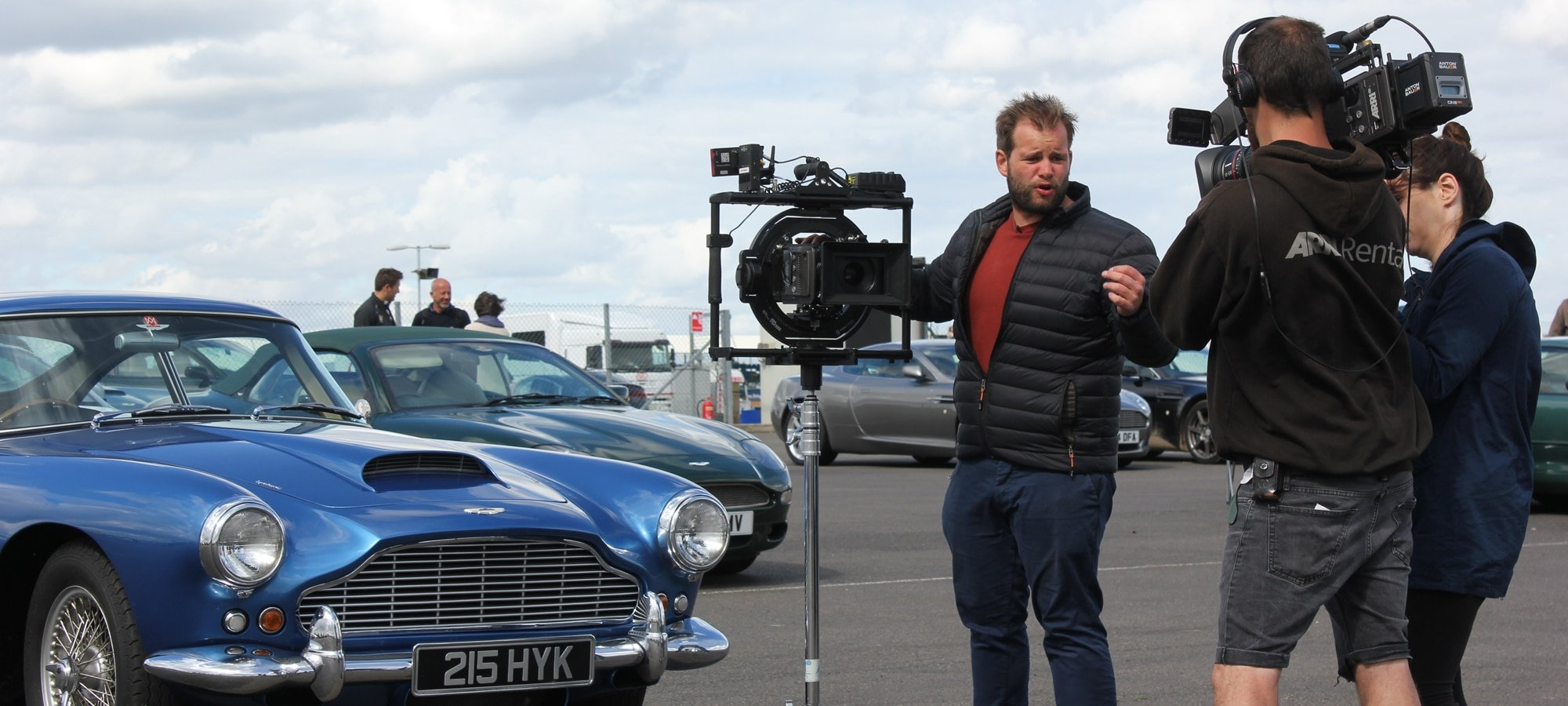Test shoot with the ARRI AMIRA at the Silverstone Classic