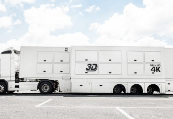 24-camera double-expanding 4K-ready OB truck - exterior