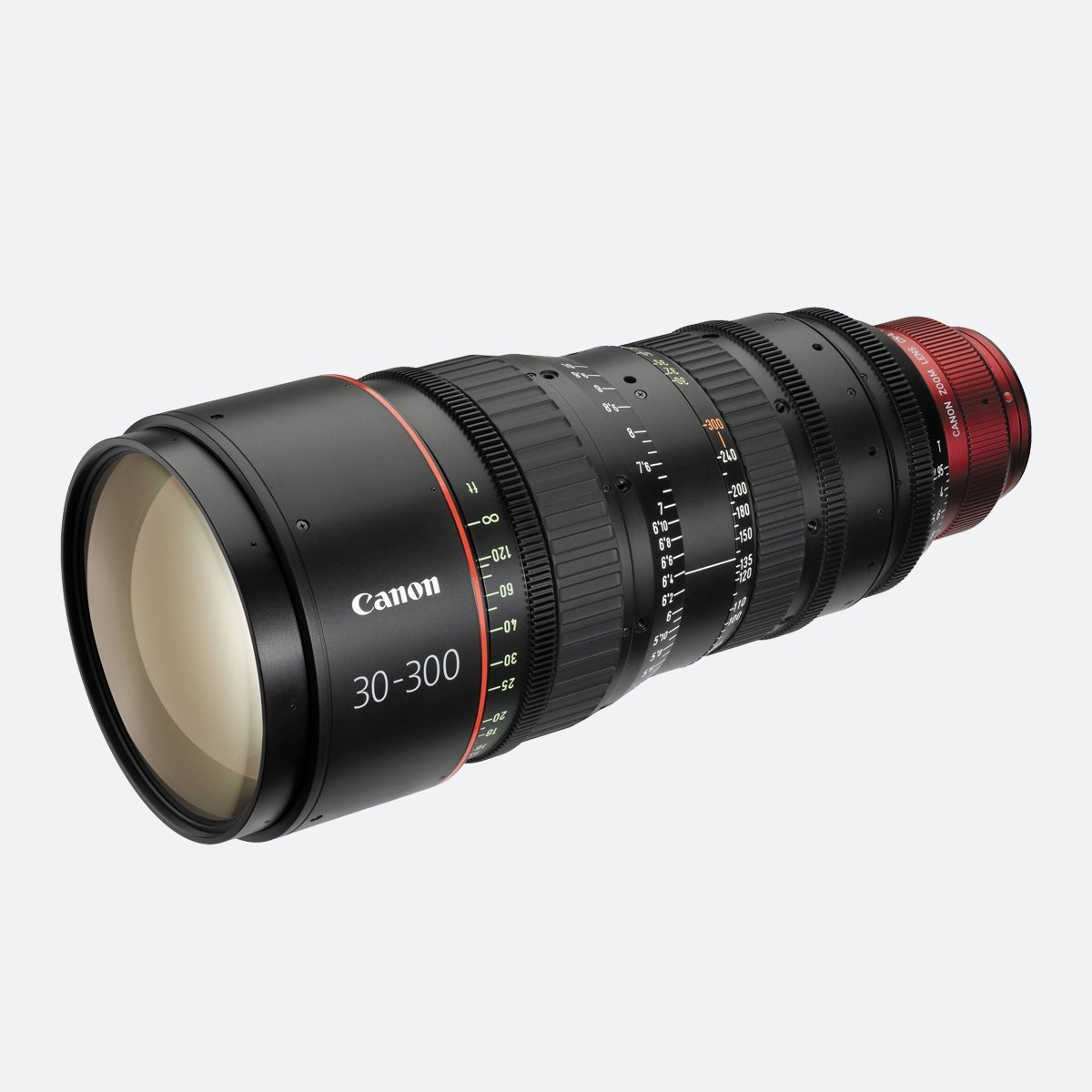 Canon CN-E30-300mm T2.95-3.7 4K Cinema Zoom Lens