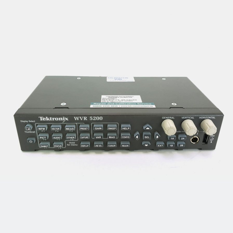 Ex-Demo Tektronix WVR5200 Multi-format/standard Compact Rasterizer