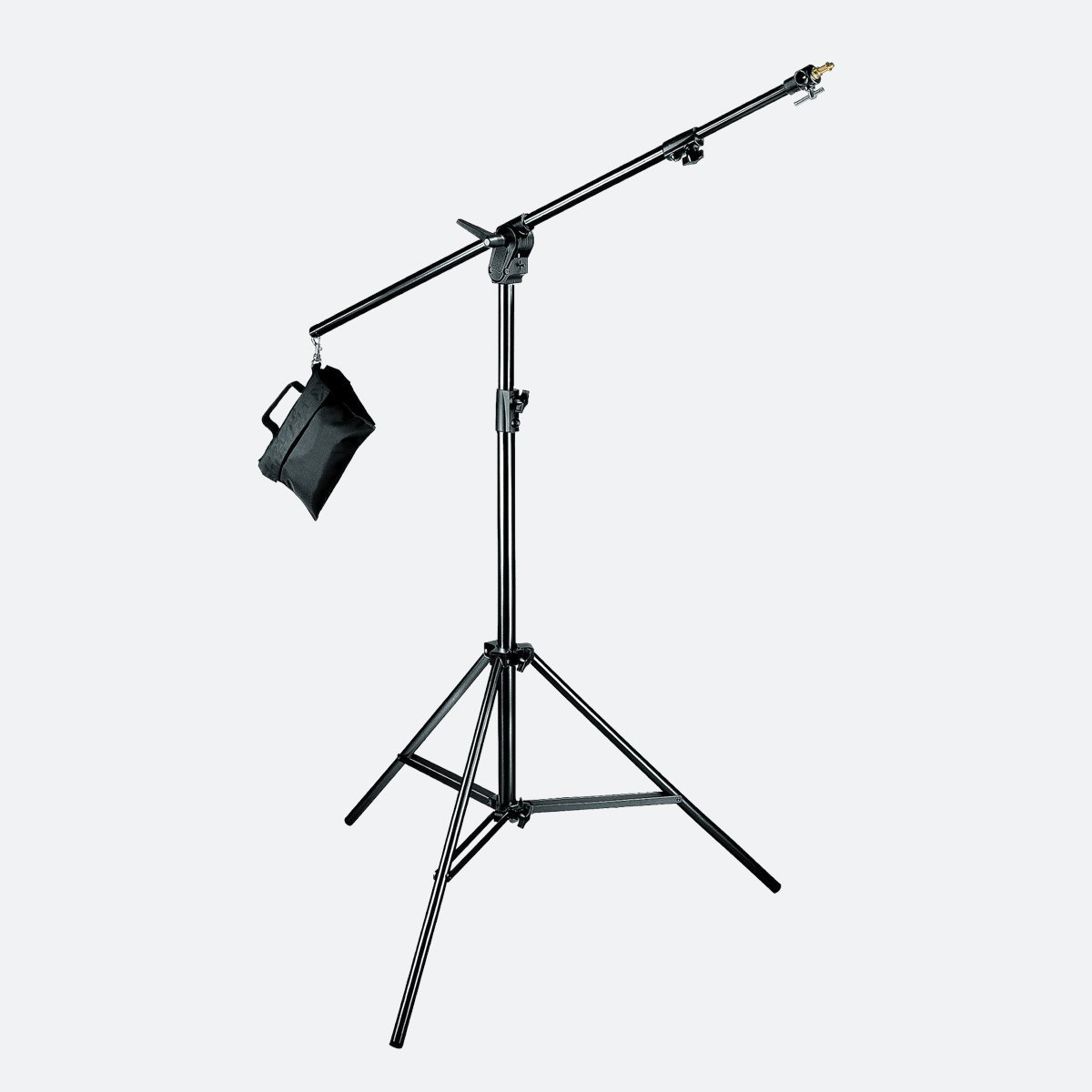 Manfrotto 420B Combi-boom stand Black Aluminium with Sandbag