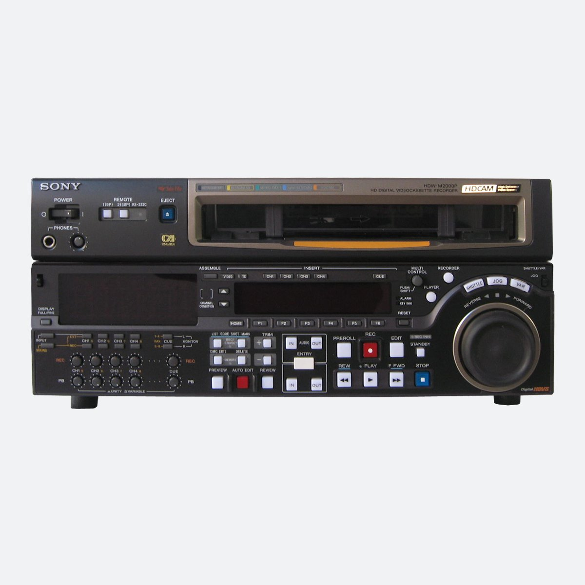 Used Sony HDW-M2000P Digital recorder and player