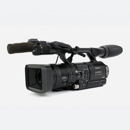 """Used Sony HVR-Z1E HDV 1/3"""" 3CCD Handheld Camcorder"""