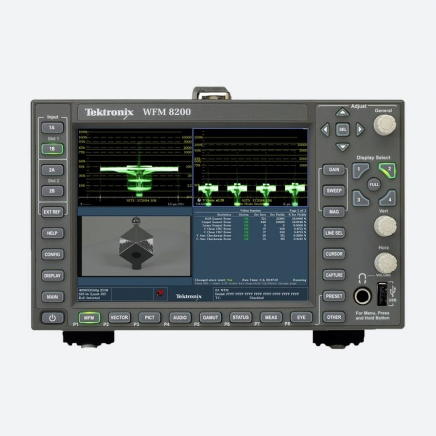 Telestream WFM-8200 Advanced 3G-SDI Monitoring with 4K Support