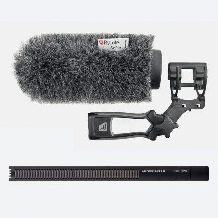 Used Sennheiser MKH 416 P48 Shotgun Microphone Kit