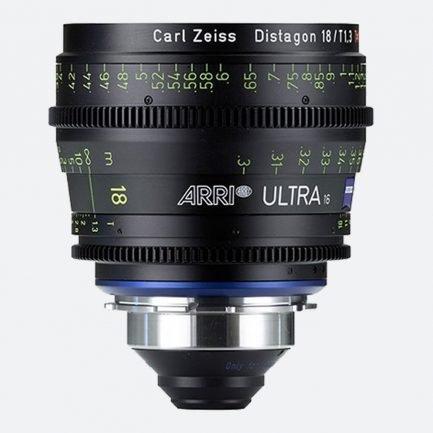 ARRI Ultra 16 T1.3 / 18 mm Prime Lens