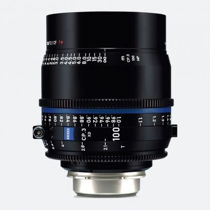 Zeiss CP.3 XD 100mm T/2.1 Compact Prime Cine Lens