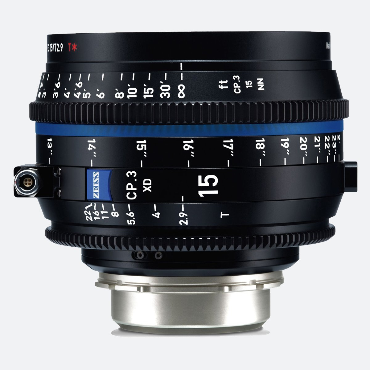 Zeiss CP.3 XD 15mm T/2.9 Compact Prime Cine Lens