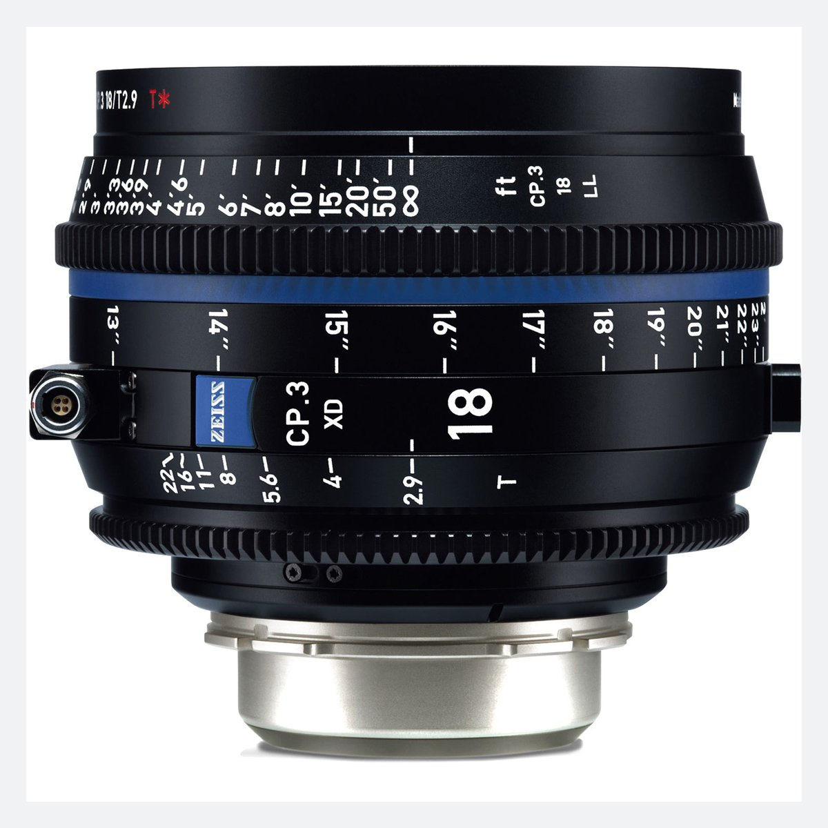 Zeiss CP.3 XD 18mm T/2.9 Compact Prime Cine Lens