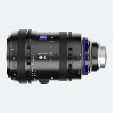 Zeiss 28-80mm T2.9 CZ.2 Compact Cine Zoom