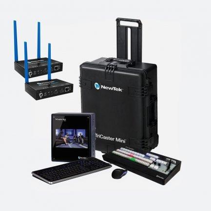 NewTek TriCaster Mini HD-4i HDMI Bundle Spark HDMI