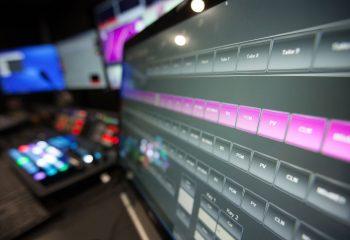 Broadcast equipment at Gamesys' TV studio complex