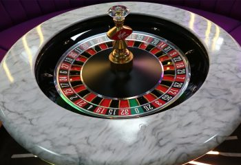 The roulette table at the Gamesys TV studio
