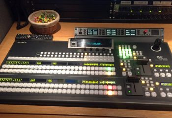Reference 818 | 6 HD rigid ob truck | For-A HVS-390HS vision mixer