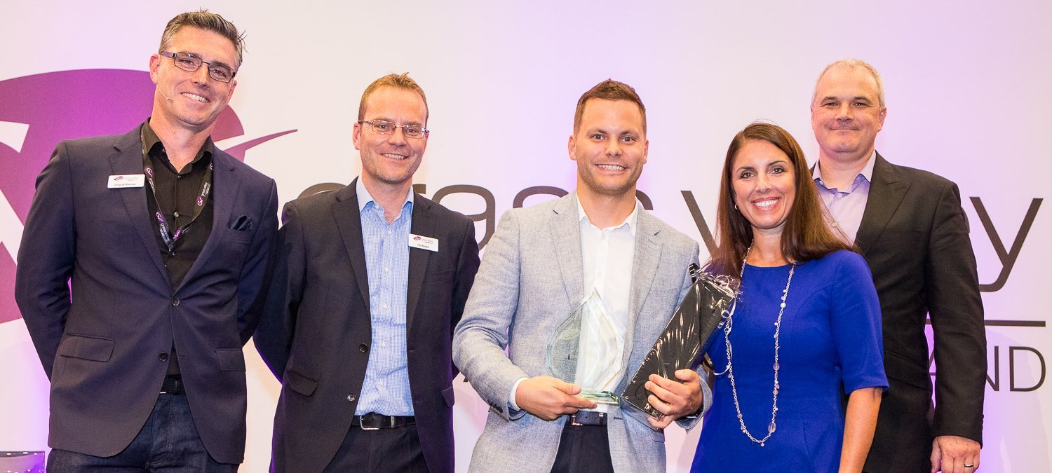 The Grass Valley award for outstanding achievement in Live Production Solutions is presented to ES Broadcast