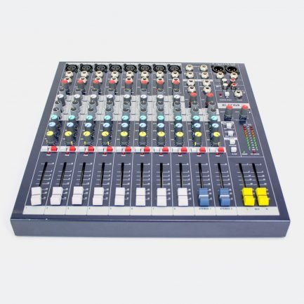Used Soundcraft EPM8 8-channel mixer