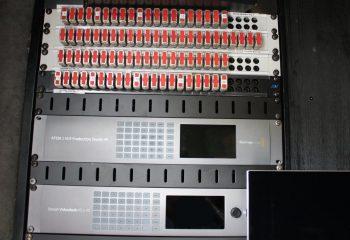 Blackmagic ATEM 2 M/E Production Studio 4K, Blackmagic Videohub 40x40