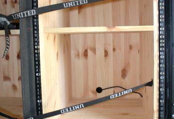 Racks and storage area