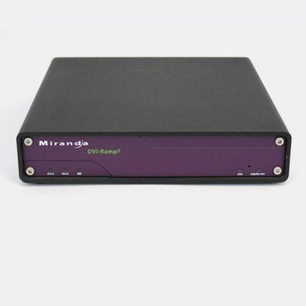 Used Miranda DVI-Ramp2 Graphic to HD/SD Video Interface
