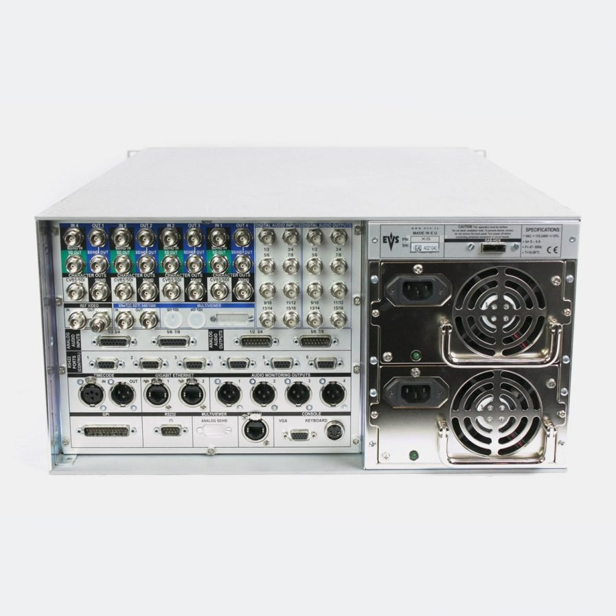 Used EVS XS Video server with XStore