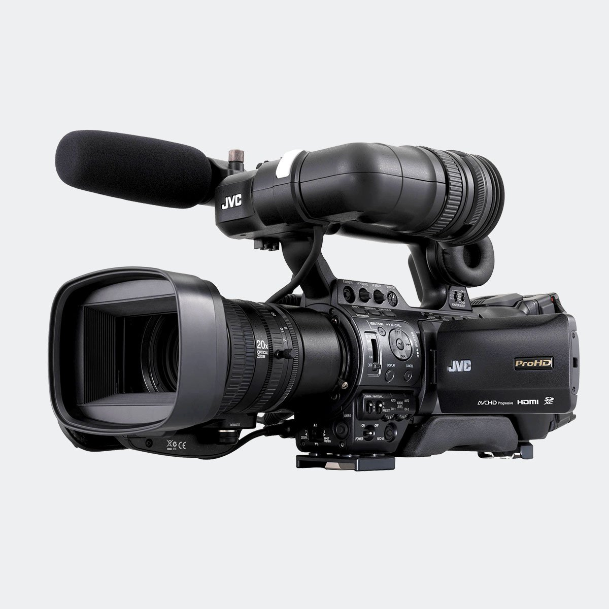 JVC GY-HM850RE live streaming ENG HD camcorder
