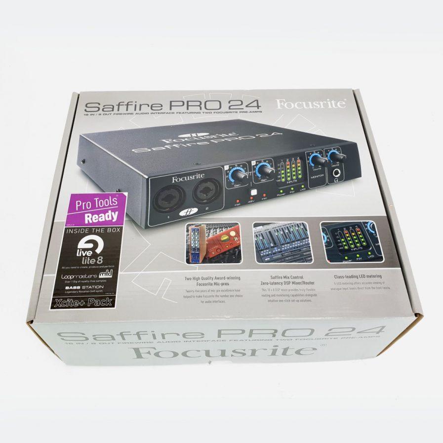 Used Focusrite Saffire Pro 24 Firewire Audio Interface