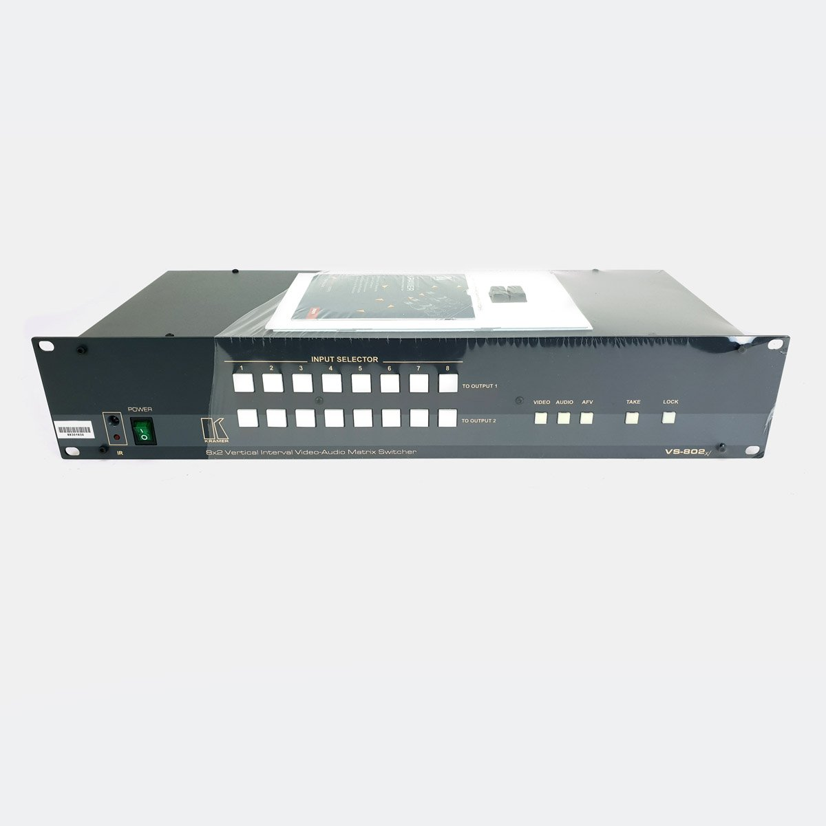 Used Kramer VS-802xl 8x2:2 Composite Video Matrix Switcher
