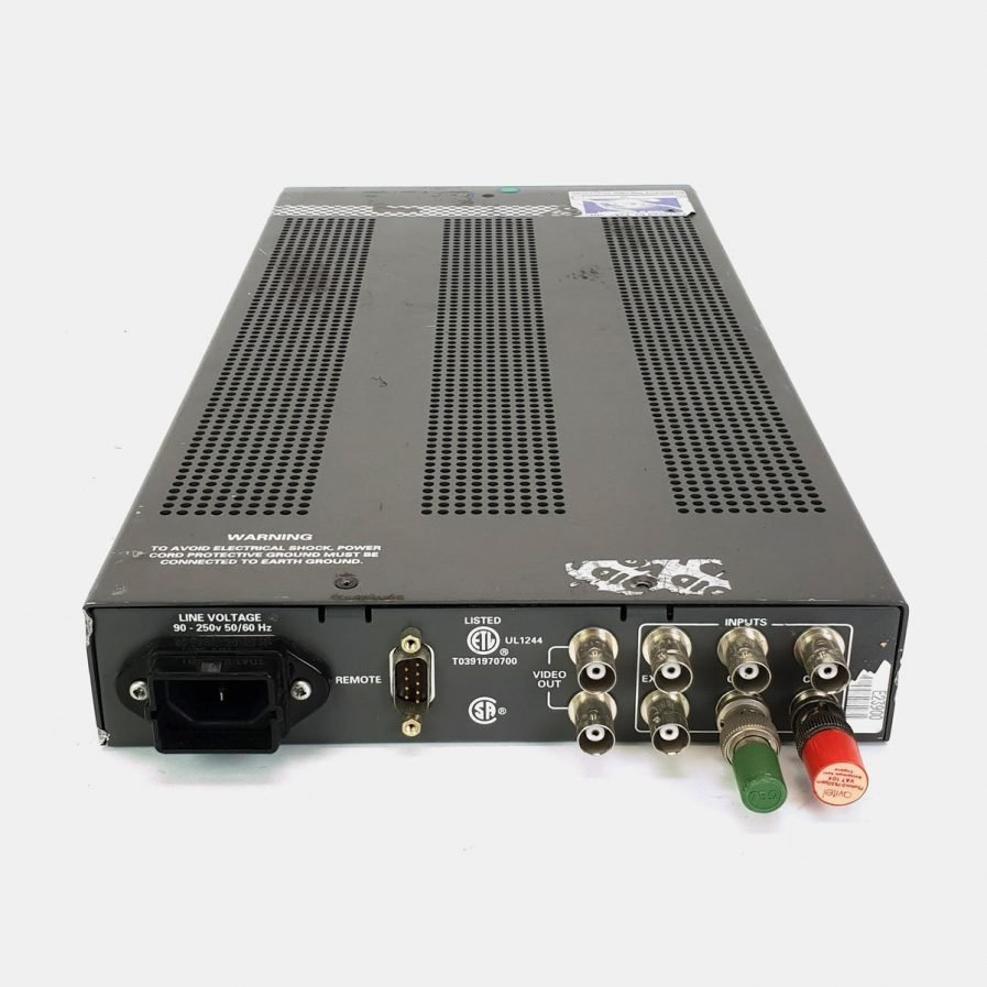 Used Tektronix WVR500 Waveform/Vector Monitor