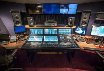 Following its audio upgrade, H Studio now boasts an IP-based SSL System T audio system