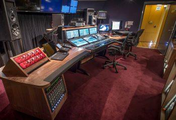 The refurbished audio room at H Studio London