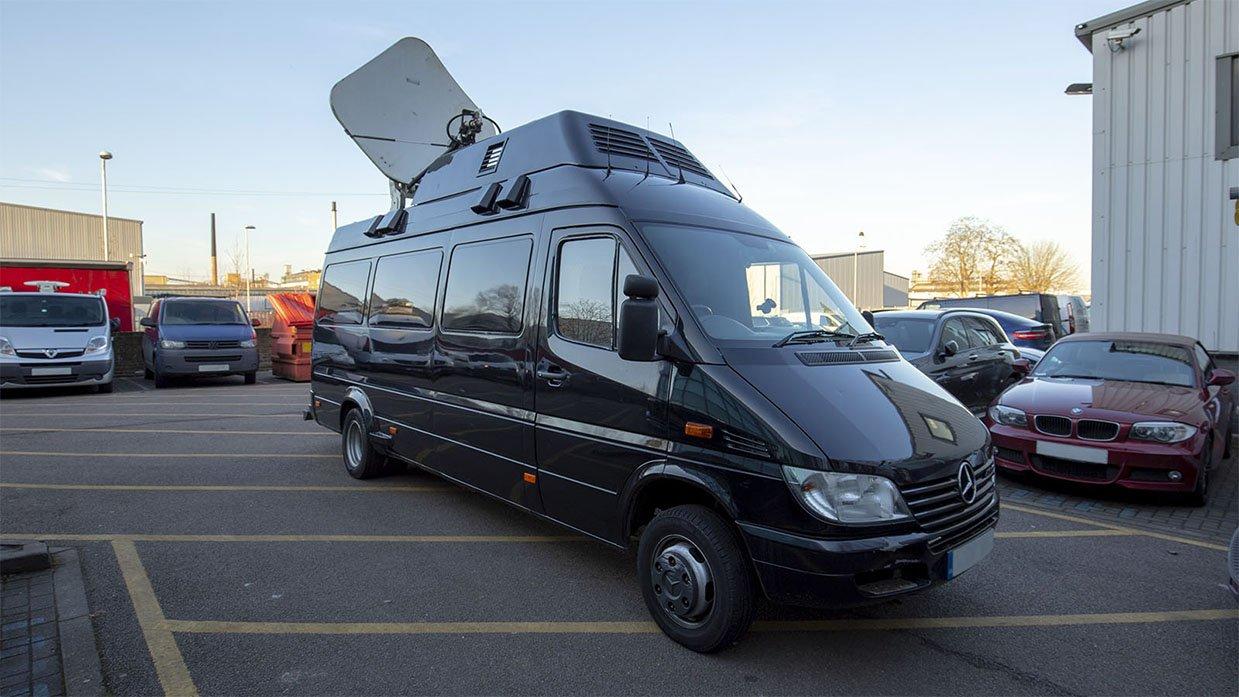 Ref 822 KU Band SNG Sprinter Van