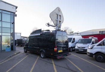 ES Broadcast Reference 822 KU Band SNG Sprinter Van