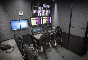 Graphics positions, RaceTech 14-camera HD OB trucks