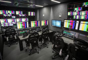 Production gallery, RaceTech 14-camera HD OB trucks