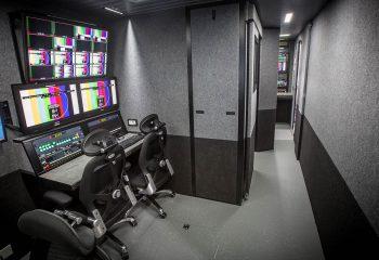 Graphics/edit positions, RaceTech 14-camera HD OB trucks