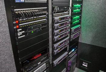 Engineering racks, RaceTech 14-camera HD OB trucks