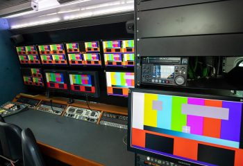Reference 831 | 5-Camera HD OB Truck - Production area