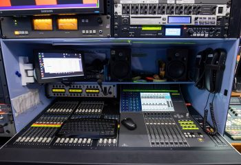 Reference 831 | 5-Camera HD OB Truck - Audio and Vision area