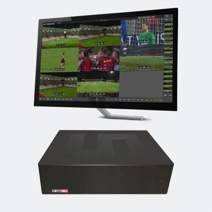 Simplylive Ref&Box8 - Mini Multi-Camera Video Review System