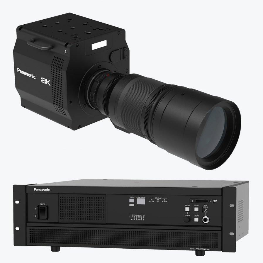 Panasonic 8K ROI Camera System
