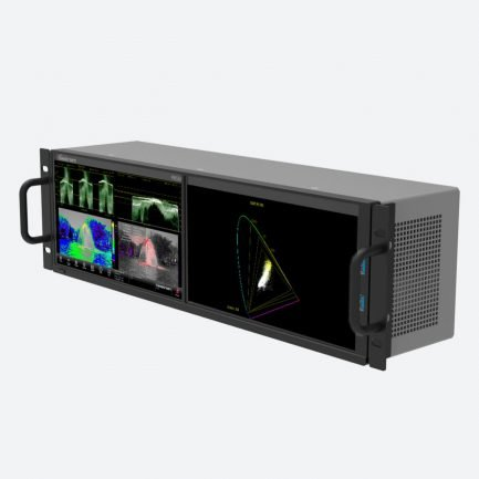 Telestream PRISM MPD-100 dual screen waveform monitor