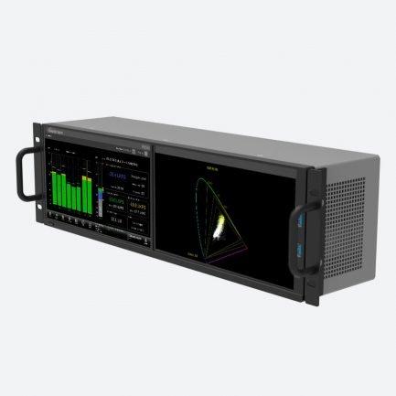 Telestream PRISM MPD-200 dual screen waveform monitor