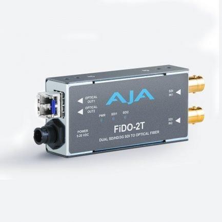 AJA FiDO-2T 2-Channel 3G-SDI to Single Mode LC Fiber Transmitter