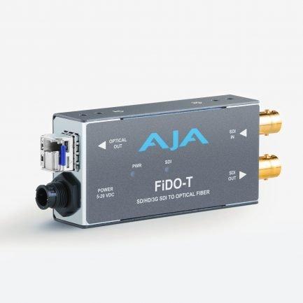 AJA FiDO-T 1-Channel 3G-SDI to Single Mode LC Fibre Transmitter
