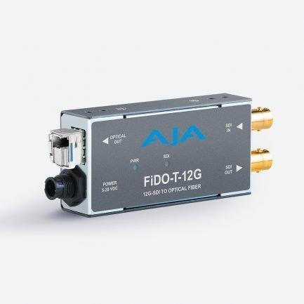 AJA FiDO-T-12G 1-channel 12G-SDI to Single-Mode LC Fibre Transmitter