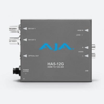 AJA HA5-12G HDMI to 12G-SDI converter