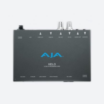 AJA HELO H.264 HD/SD Streaming and Recording