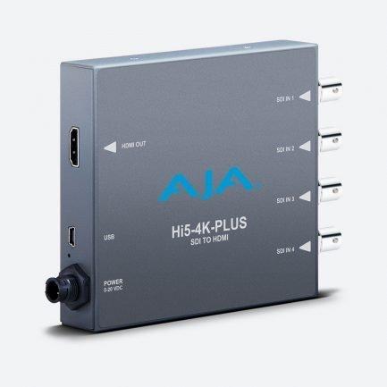 AJA Hi5-4K-Plus 3G-SDI to HDMI converter